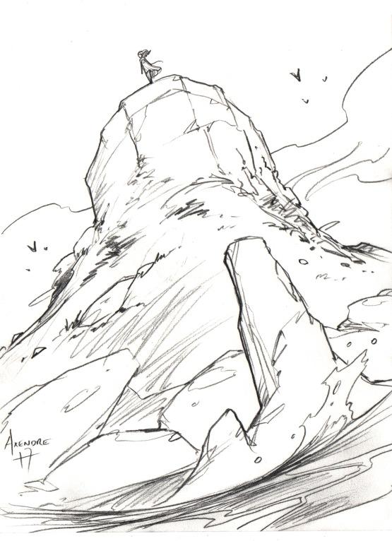 12_GRANDES PLAINES - Bord de la falaise