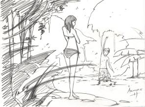 GROUPE - Le bain