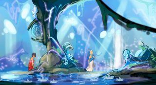 Grotte scintillante